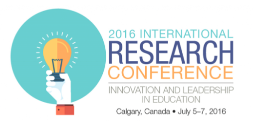 CATE - 2016 International Research Conference