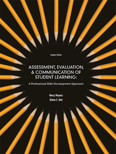 CATE - Assessment, evaluation, and communication of student learning