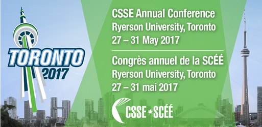 CSSE Annual Conference - Toronto 2017