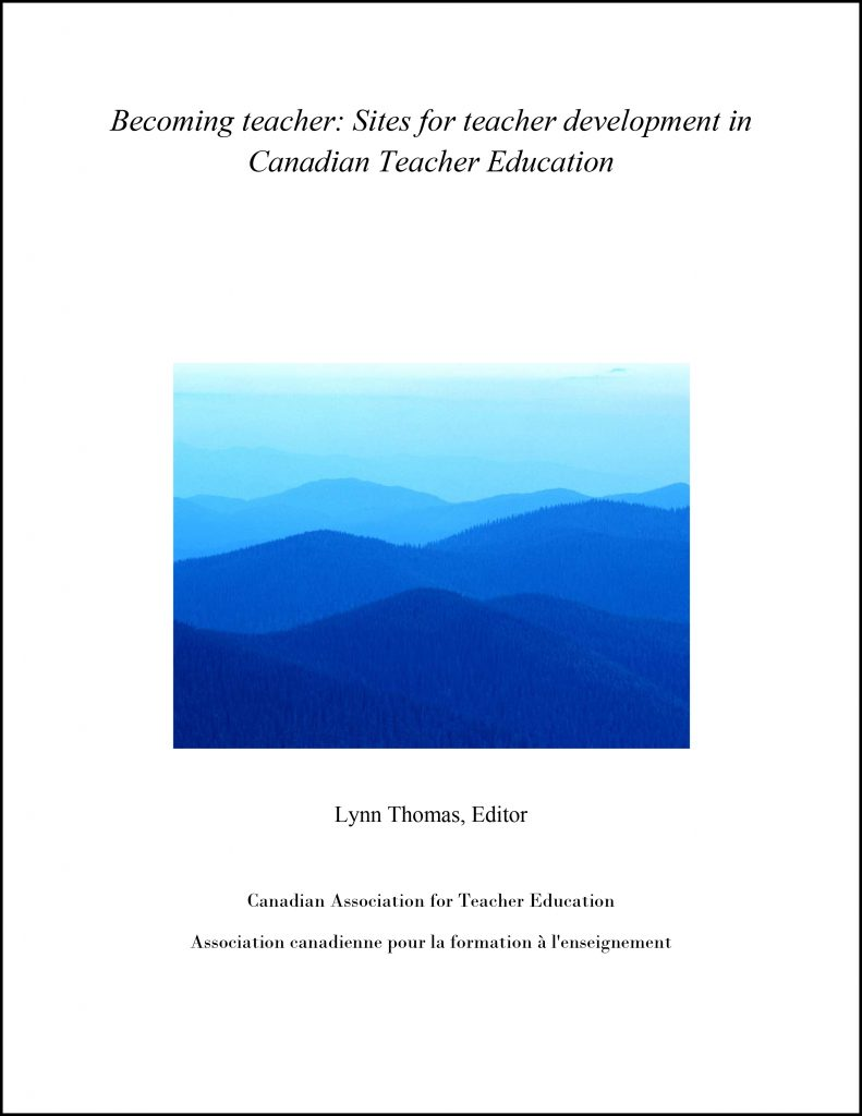 CATE - Becoming teacher: Sites for teacher development in Canadian Teacher Education